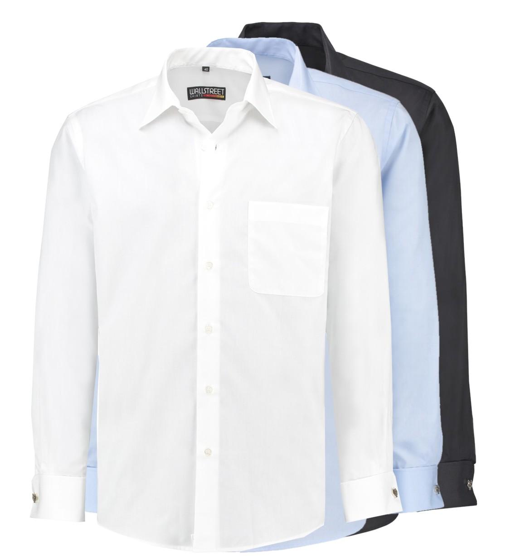 hot sale online 067ad 30641 Bügelfreies Hemd mit Umschlagmanschette