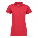 BIOACTIVE Damen-Poloshirt in rot